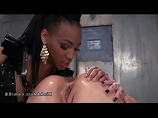 Lezdom anal fisting and toying