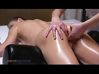 Massage rooms young and horny lesbian ukrainian comes hard from asian fingers