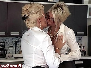 Puma swede and bobbi are the lesbian office slut