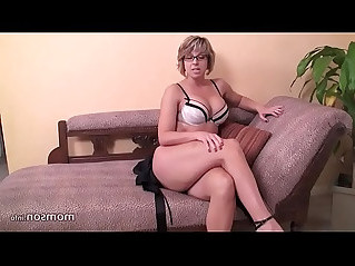 Mom makes a masturbation porn video for her son who is she