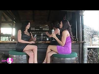 Lesbian cougar seduces two young lesbians viv thomas hd