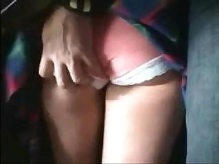Girl groped on the metro train