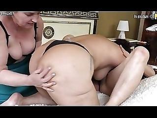 Hot mature moms fuck big lesbian grandma